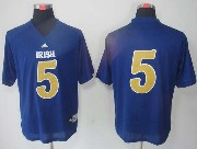Mens Ncaa Nfl Notre Dame #5 Menti Te'o Navy Blue (adidas Gold Number) Jersey Gz