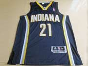 Mens Nba Indiana Pacers #21 West Blue Revolution 30 Mesh Jersey