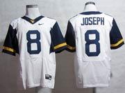 Mens Ncaa Nfl Virginia Mountaineers #8 Joseph White Elite Jersey Gz