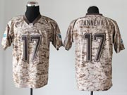 Mens Nfl Miami Dolphins #17 Tannehill Camo Us Mccuu Jersey