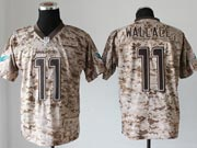 Mens Nfl Miami Dolphins #11 Wallace Camo Us Mccuu Jersey