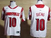 Mens Ncaa Nba Louisville Cardinals #10 Dieng White Jersey Gz