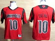 Mens Ncaa Nba Louisville Cardinals #10 Dieng Red Jersey Gz