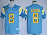 Mens Ncaa Nfl Ucla Bruins #8 Aikman Blue Jersey Gz