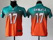 Youth Nfl Miami Dolphins #17 Tannehill Green&orange Drift Fashion Ii Elite Jersey