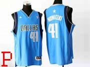 Mens Nba Dallas Mavericks #41 Nowitzki Light Blue Revolution 30 Jersey (p)