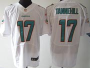 Mens Nfl Miami Dolphins #17 Tannehill (2013 New) White Elite Jersey