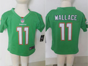 Kids Nfl Miami Dolphins #11 Mallace Green Jersey
