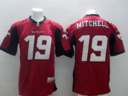Mens Cfl Calgary Stampeders #19 Mitchell Red Jersey