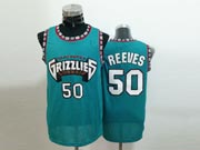 Mens Nba Vancouver Grizzlies #50 Reeves Green Jersey(m)