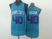 Mens Nba Charlotte Hornets #40 Zeller Teal Jersey