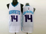 Mens Nba Charlotte Hornets #14 Kidd-gilchrisi White Jersey (m)