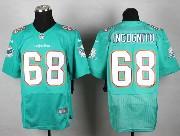 Mens Nfl Miami Dolphins #68 Incognito Green (2013 New) Elite Jersey