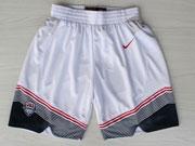 Nba Usa 11 2014 White Short