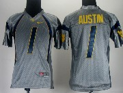 Youth Ncaa Nfl West Virginia Mountaineers #1 Austin Gray Jersey