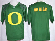 Mens Ncaa Nfl Oregon Ducks #0 Win The Day (yellow Number) Jersey