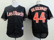 Mens Mlb Arizona Diamondbacks #44 Paul Goldschmidt Black Jersey