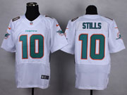 Mens Nfl Miami Dolphins #10 Stills White (2013 New) Elite Jersey