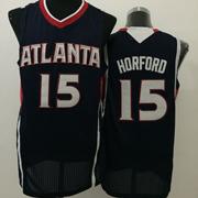 Mens Nba Atlanta Hawks #15 Horford Black Jersey