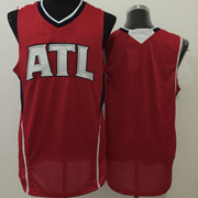 Mens Nba New Styles Atlanta Hawks Blank Red Jersey