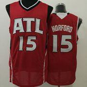 Mens Nba New Styles Atlanta Hawks #15 Horford Red Jersey