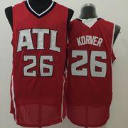 Mens Nba New Styles Atlanta Hawks #26 Korver Red Jersey