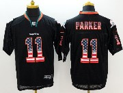 Mens Nfl Miami Dolphins #11 Parker Black (2014 Usa Flag Fashion) Elite Jersey