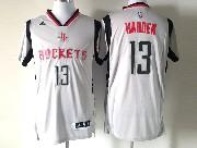 Mens Nba Houston Rockets #13 Harden White (2016 New) Jersey