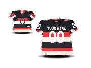 Youth Nhl Ottawa Senators (custom Made) Black&white Jersey