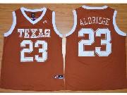 Mens Ncaa Nba Texas Longhorns #23 Aldridge Orange Jersey