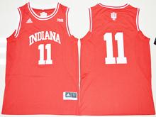 Mens Ncaa Nba Indiana Hoosiers #11 Yogi Ferrell Red Jersey
