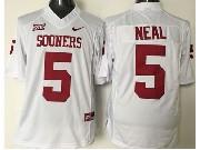 Mens Ncaa Nfl Oklahoma Sooners #5 Neal White Jersey