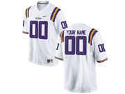 Mens   Ncaa Nfl Lsu Tigers White Jersey