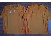 Mens Ncaa Nfl 2015 Tennessee Volunteers Blank Orange Football Jersey