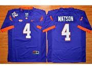 Youth Ncaa Nfl Clemson Tigers #4 Deshaun Watson Purple College Football Jersey