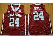 Mens Ncaa Nba 2016 Oklahoma Sooners #24 Buddy Hield Red College Basketball Jersey
