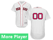 Mens Majestic Boston Red Sox White Flex Base Current Player Jersey