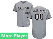 Mens Majestic Chicago White Sox Gray Flex Base Current Player Jersey