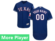 Mens Majestic Texas Rangers Blue Flex Base Current Player Jersey
