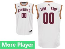 Mens Adidas Cleveland Cavaliers White Home Current Player Jersey