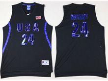 Mens Nba 12 Dream Teams #24 Bryant Black Jersey
