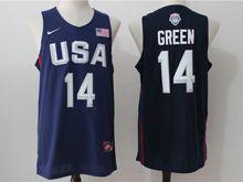 Mens Nba 12 Dream Teams #14 Draymond Green Blue Jersey