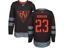 Mens Team North America #23 Sean Monahan Black 2016 World Cup Hockey Jersey