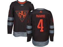 Mens Team North America #4 Colton Parayko Black 2016 World Cup Hockey Jersey