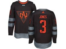 Mens Team North America #3 Seth Jones Black 2016 World Cup Hockey Jersey