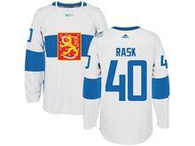 Mens Nhl Team Finland #40 Tuuka Rask White 2016 World Cup Hockey Jersey