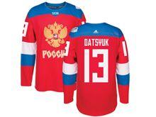 Mens Nhl Team Russia #13 Pavel Datsyuk Red 2016 World Cup Hockey Jersey