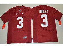 Mens Ncaa Nfl Alabama Crimson #3 Calvin Ridley Crimson Limited Jersey