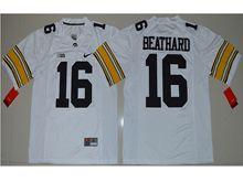 Mens Ncaa Nfl Iowa Hawkeyes #16 C.j Beathard White Limited Jersey