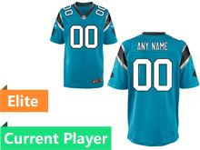 Mens Nfl Carolina Panthers Blue Elite Current Player Jersey